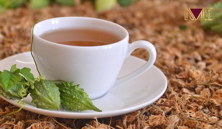 2 - 3 tách trà khổ qua mỗi ngày giúp cải thiện sức khỏe
