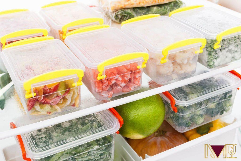 Giữ thực phẩm ở nhiệt độ thấp sau khi nấu chín